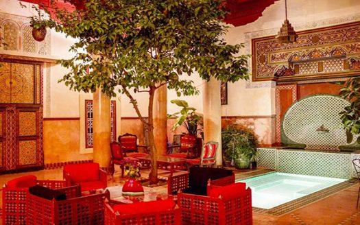 Location Gérance Riad Maison d'hôtes Médina