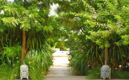 Location villa avec piscine sur la route de lourika proche du centre