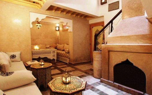 Location longue durée un Riad quartier la medina