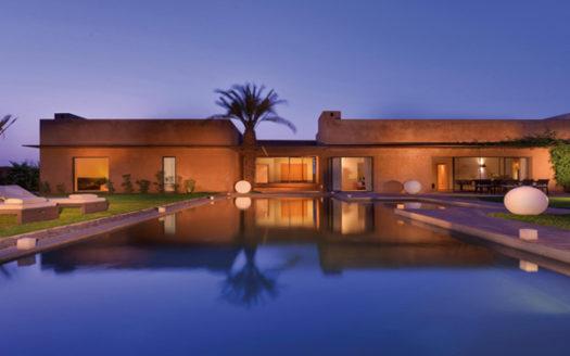 Vente villa moderne Marrakech route barrage