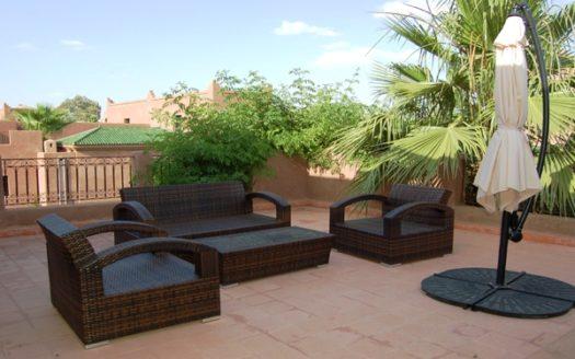 Location longue durée Villa riad avec piscine