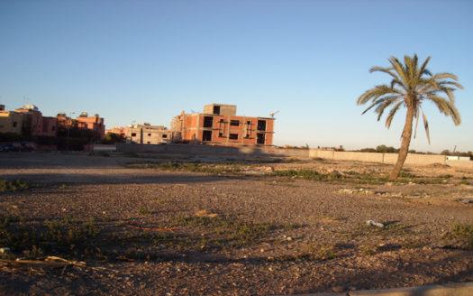 Vente Terrain situé sur la route de Casa