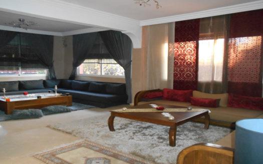 Location longue durée Villa privée quartier résidentielle targa