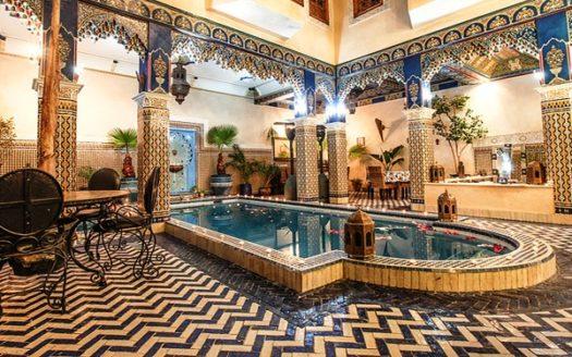 Vente Riad titre avec piscine