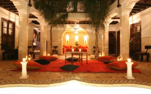 Riad titre proche de la place medina marrakech