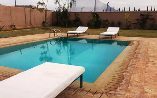 location vacance villa avec piscine Route fes