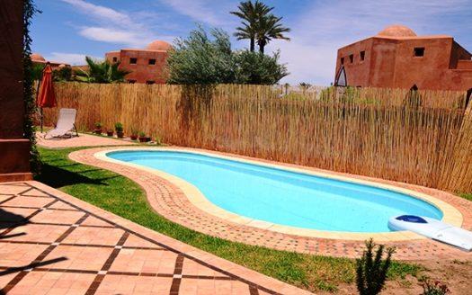 vente Villa avec piscine Marrakech palmeraie