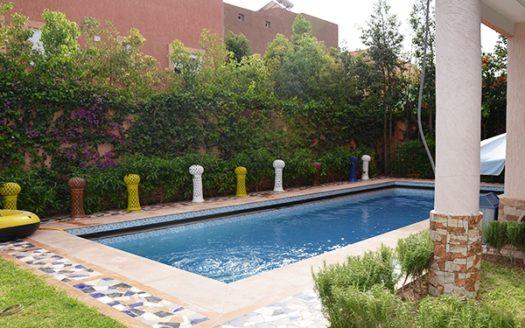 Location longue durée villa Targa Marrakech