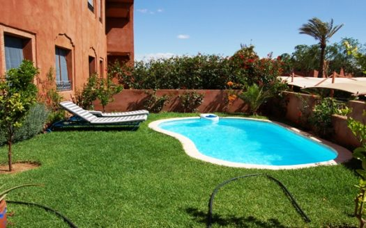 Location appartement avec piscine marrakech