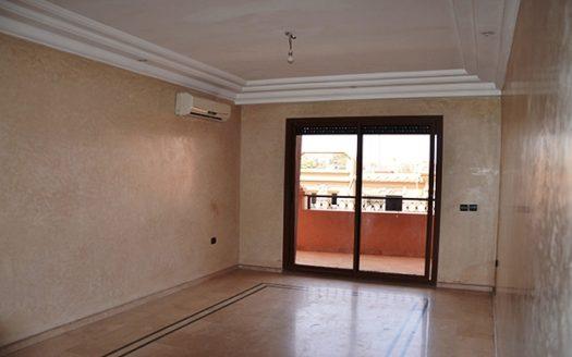 Location longue durée appartement vide hivernage, Au cœur de L hivernage Marrakech Parfaitement situé au quartier de divertissement de Marrakech,