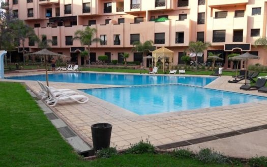 Location appartement avec piscine palmeraie