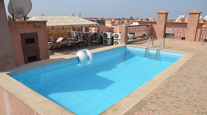 Appartement avec piscine en vente Guéliz
