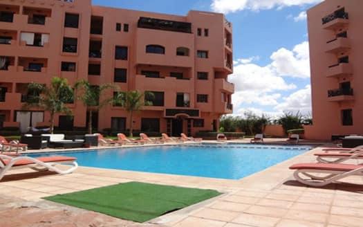 Location appartement deux chambres Marrakech