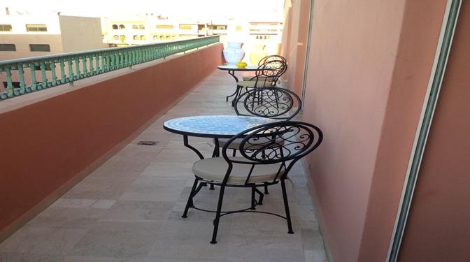 Appartement meublé avec piscine