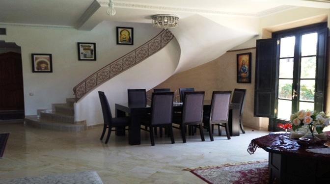 marrakesh opportunity villa palmeraie location longue dur e. Black Bedroom Furniture Sets. Home Design Ideas