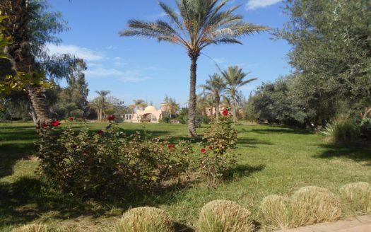Location longue durée villa route Ouarzazate