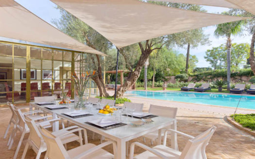 Prestigieuse villa de luxe Amelkis Marrakech