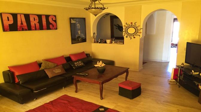 marrakesh opportunity location longue dur e appartement meubl moderne pas cher. Black Bedroom Furniture Sets. Home Design Ideas