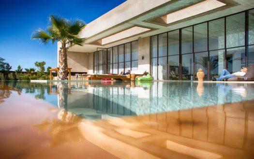 Villa de prestige contemporaine route Barrage