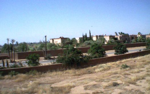 Vente terrain titré Amelkis situé entre les trois golfs