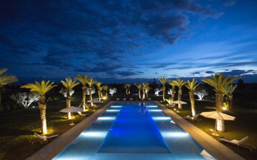 Vente villa moderne route ouarzazate