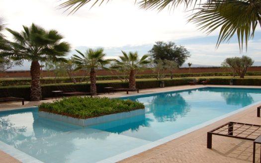 Location villa privé avec piscine Sur la route d'Amizmiz