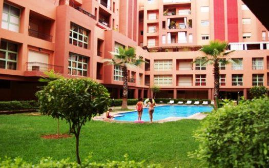 Location Appartement Majorelle avec piscine résidentielle