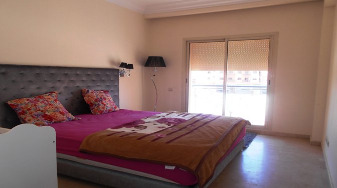 marrakesh opportunity appartement moderne en location longue dur e. Black Bedroom Furniture Sets. Home Design Ideas
