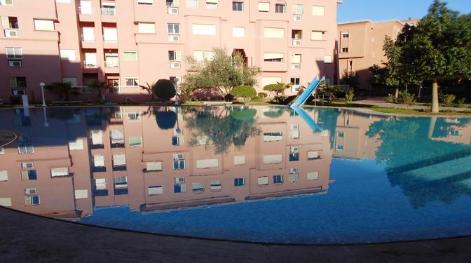 Location longue dur e marrakech avec piscine for Location appartement marrakech gueliz avec piscine
