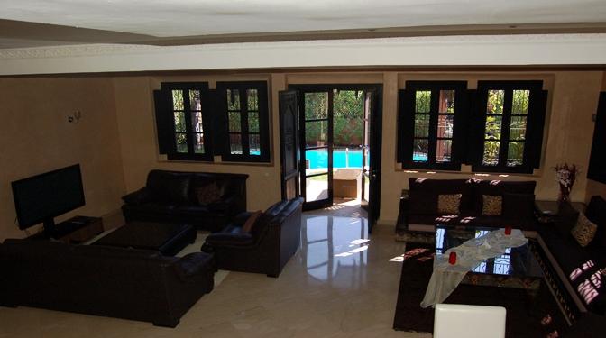 location longue dur e villa la palmeraie. Black Bedroom Furniture Sets. Home Design Ideas