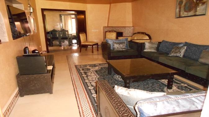 marrakesh opportunity appartement avec terrasse en location longue dur e. Black Bedroom Furniture Sets. Home Design Ideas