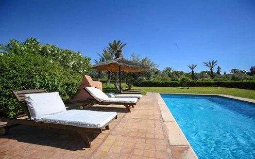 Location vacance villa sur la route de Fes