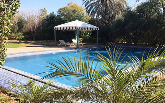 location vacance villa palmeraie marrakech
