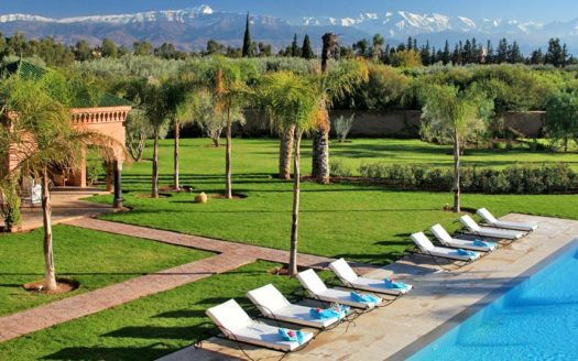 villa moderne route de Ouarzazate