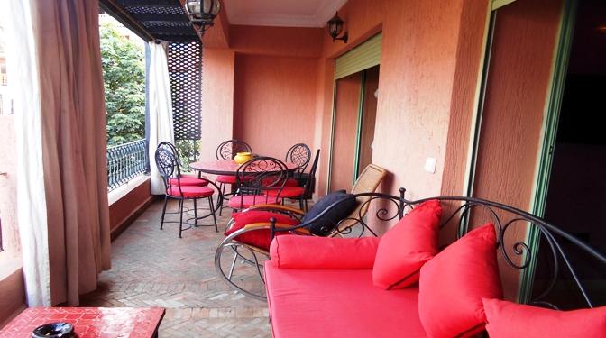 marrakech opportunity location longue dur e appartement meubl e hivernage. Black Bedroom Furniture Sets. Home Design Ideas