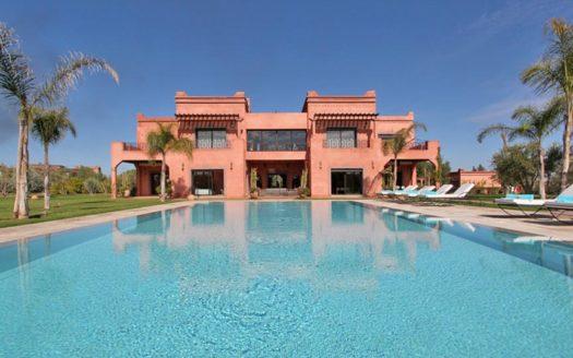 villa en location longue durée route de Ouarzazate