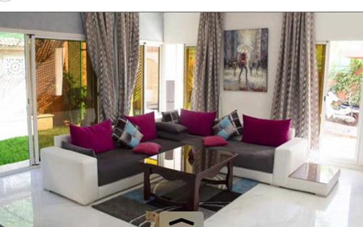 Location longue durée villa moderne Targa Marrakech