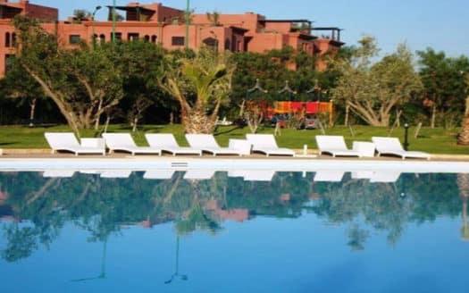 Appartement avec piscine en location marrakech
