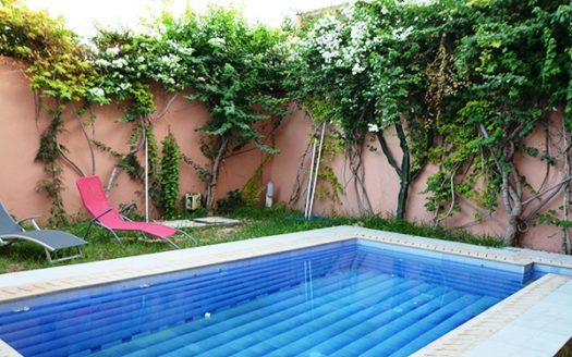Location vacance villa avec piscine Marrakech