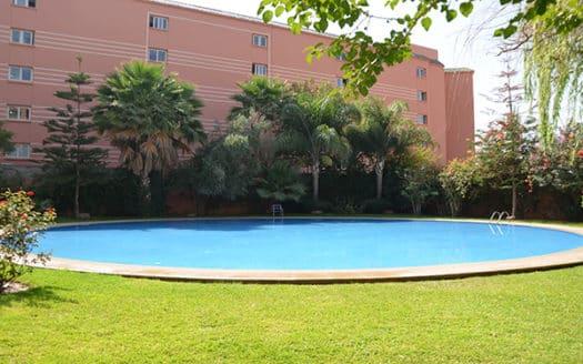 Location longue durée studio hivernage Marrakech