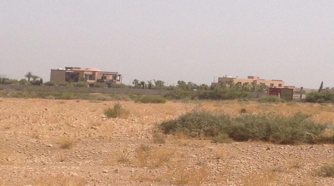 Terrain en vente sur la route d'amizmiz,