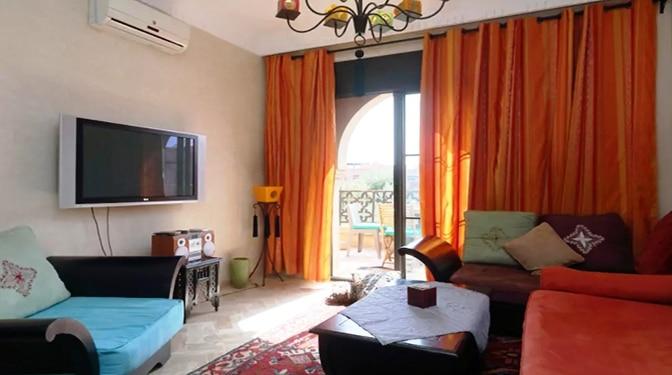 marrakesh opportunity appartement meubl en location longue dur e. Black Bedroom Furniture Sets. Home Design Ideas