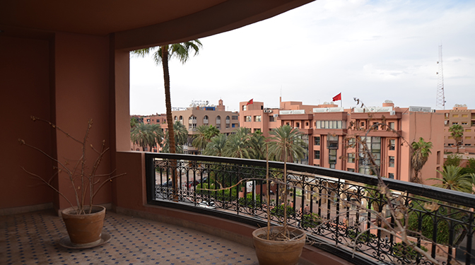 Marrakesh opportunity location appartement vide avec terrasse for Location appartement avec terrasse 92
