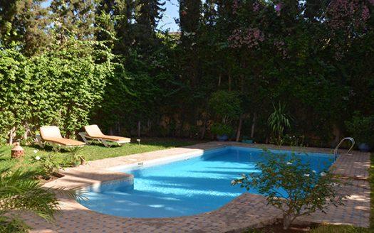 Villa en vente avec piscine sur targa,