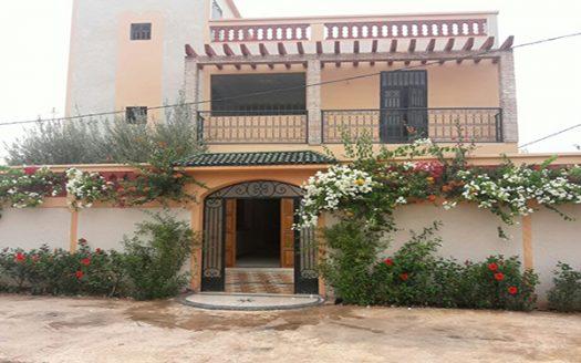 Vente villa situé sur la route de Ait Ourir