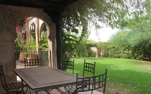 Location longue durée villa style Riad