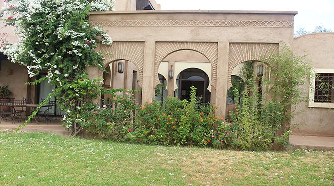 Location longue durée Riad dans un domaine calme