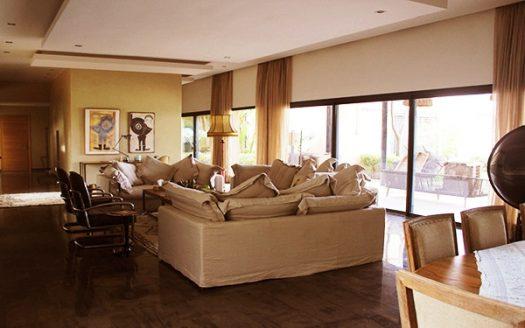 Location villa plein pied de luxe