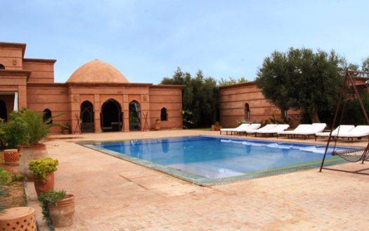 Villa en location Marrakech avec piscine