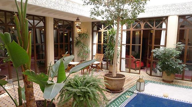 Marrakesh opportunity vente maison d hote for Vente maison hote